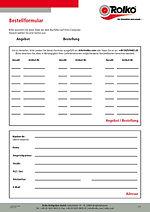Bestellformular zu unseren Sonderposten
