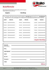 Rolko-Bestellformular