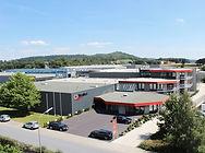 Der Hauptstandort und die Zentrallager von Rolko Kohlgrüber GmbH in Borgholzhausen, Deutschland