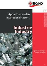 Industrie catalogus - 1 Apparatenwielen