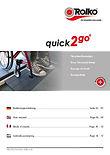 Manual for door threshold ramp quick2go