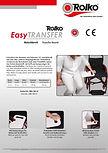 Bedienungsanleitung zu unserem Rutschbrett Rolko-EasyTRANSFER