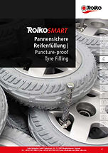 RolkoSMART: puncture-proof tyre filling