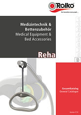 Our catalogue containing products and accessories for the medical engineering sector and care and hospital bed industry