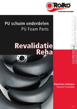 Revalidatie catalogus - 7 PU onderdelen