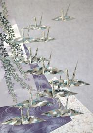 Origami Cranes 35x25