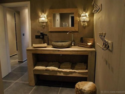 Badkamer steigerhout