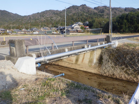宮町地区外配給水管