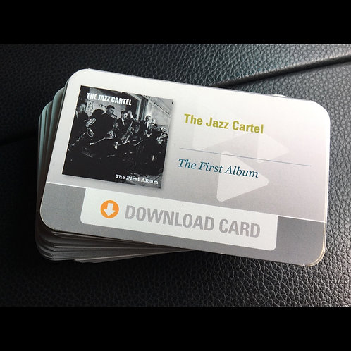 "Digital Download Card - ""The First Album"""