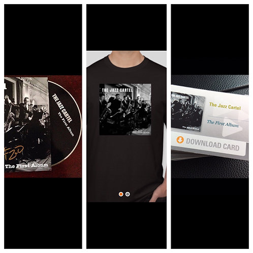 """The First Album"" Bella Bundle!! (CD + T-Shirt + Album Digital Download Card)"