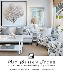 Bay Design Store Advertisement Magazine