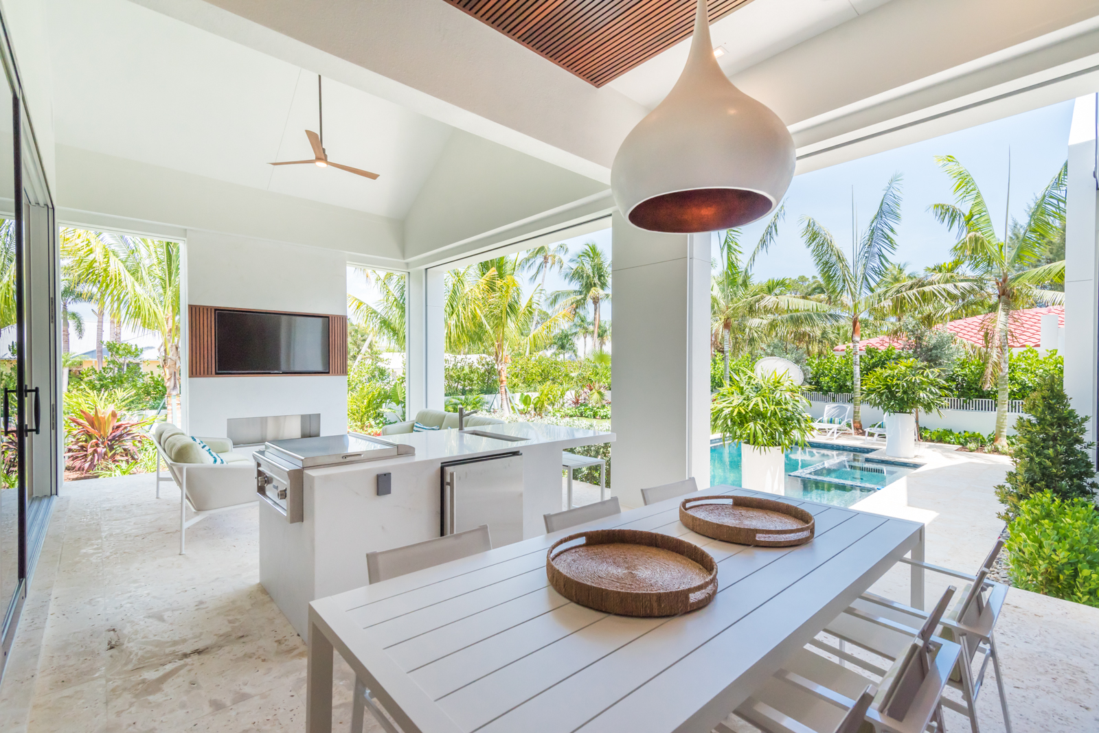 Jeffrey Fisher Home Luxury Interior Design Imagined Home Decor Outdoor Living Room Lanai