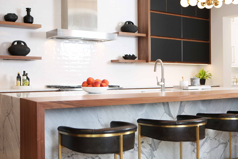 Jeffrey Fisher Home Luxury Interior Design Imagined Home Decor Custom Kitchen Island Design