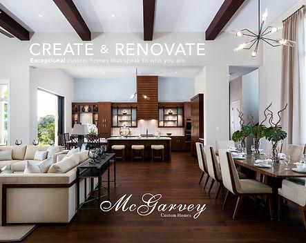 McGarvey Brochure Create & Renovate Napl