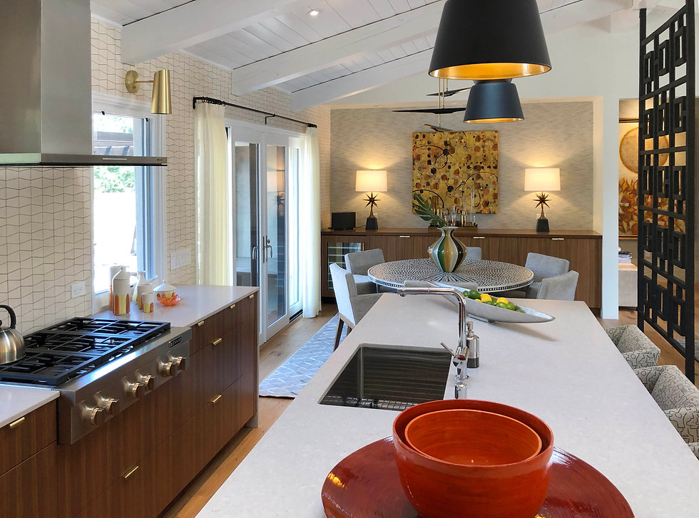 Reside Home Kitchen DIning Room Inteerio