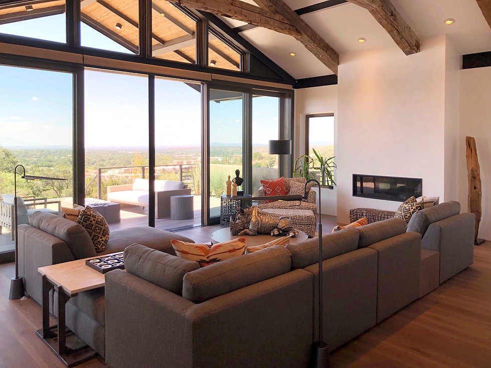 Reside Home Santa Fe New Mexico Interior