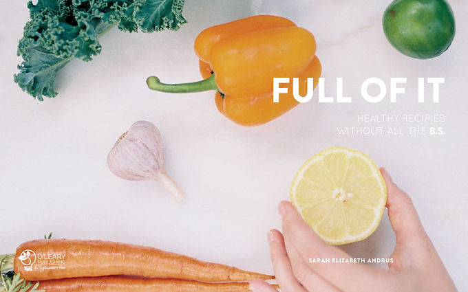 Full Of It Cookbook tingtang creative co