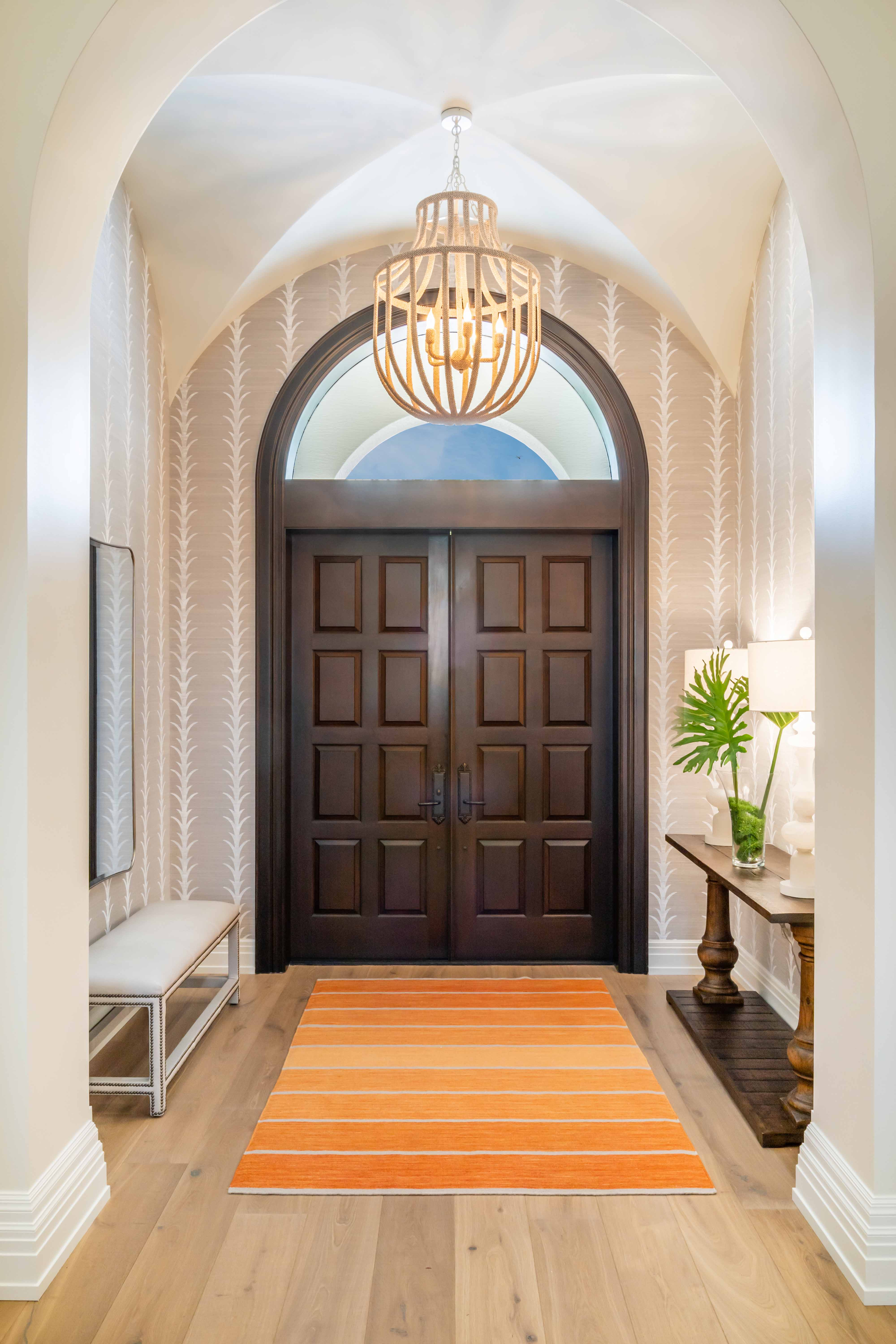 Jeffrey Fisher Home Luxury Interior Design Imagined Home Decor Foyer Entry Design