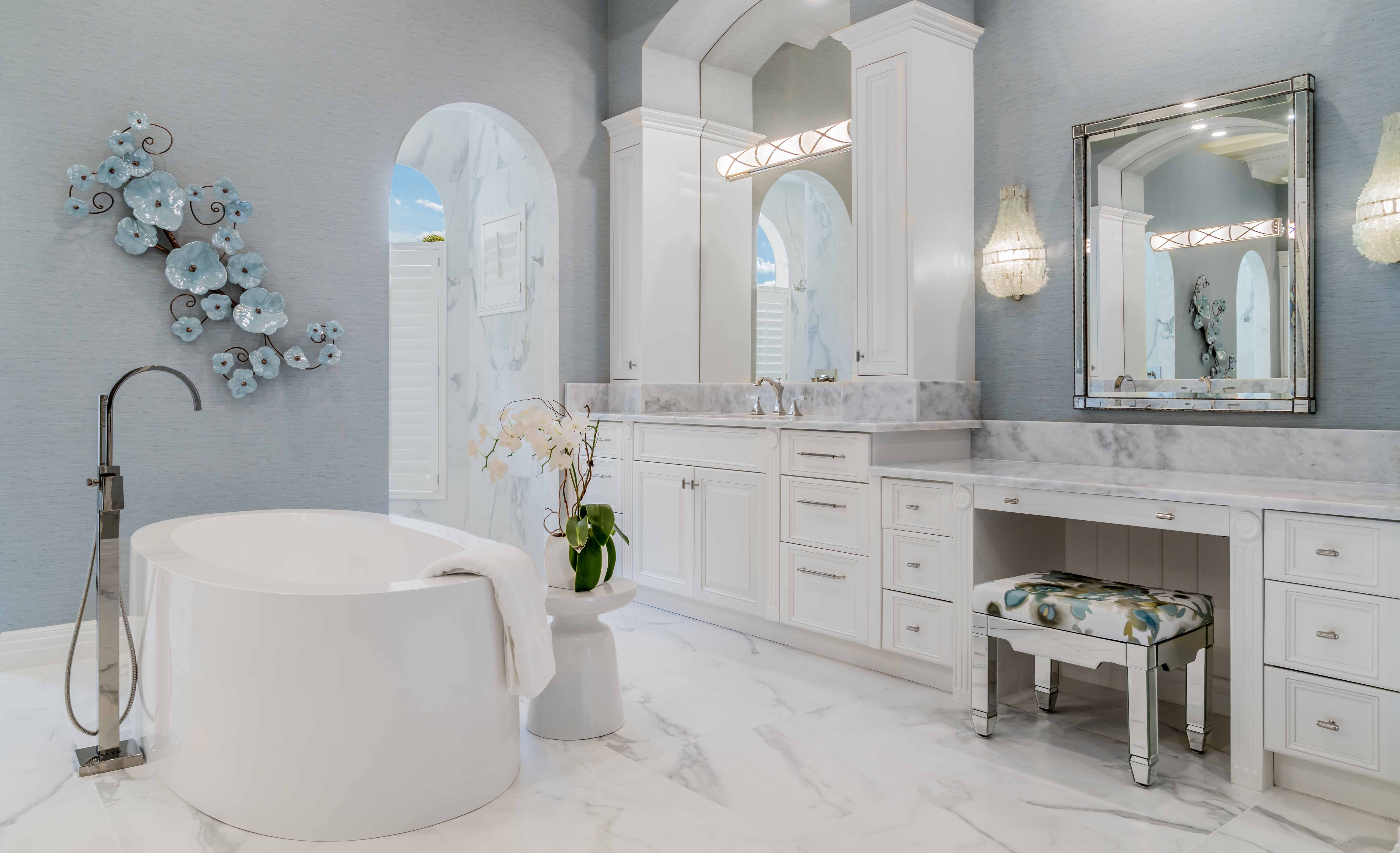 Jeffrey Fisher Home Luxury Interior Design Imagined Home Decor Custom Master Bathroom