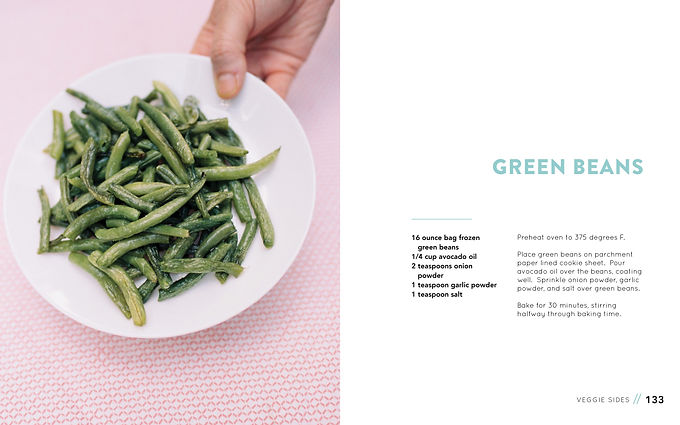 Full Of It Cookbook Green. Beans Recipe