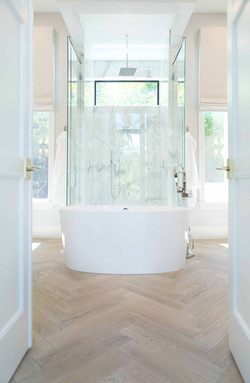 Jeffrey Fisher Home Luxury Interior Design Imagined Home Decor Master Bathroom Bath Tub