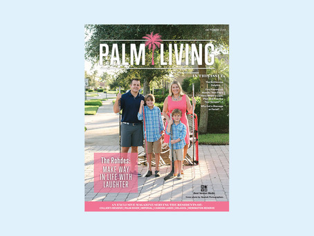 Featured in Palm Living Magazine