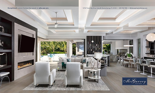 McGarvey Custom Homes Ad for Build Magaz