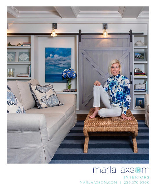 tingtang creative Graphic Design Branding Marketing Creative Directio Naples Florida Marla Axsom Interiors Florida Design Advertisement