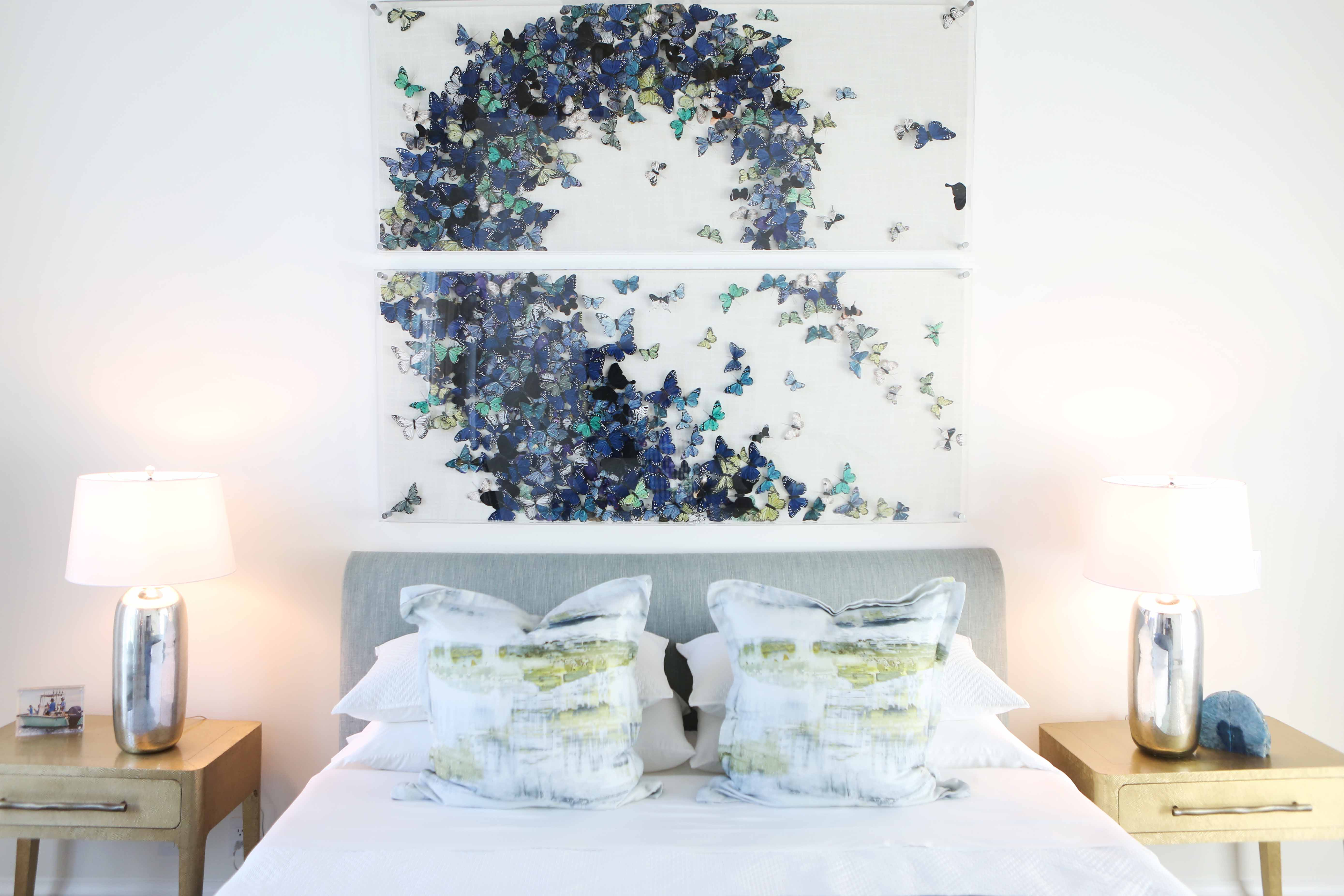 Jeffrey Fisher Home Luxury Interior Design Imagined Home Decor Butterfly Art Custom Master Bedroom D