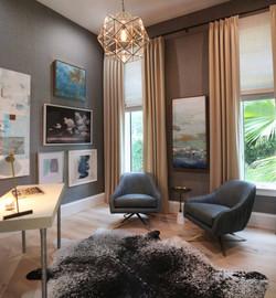 Jeffrey Fisher Home Luxury Interior Design Imagined Home Decor Office Study Design