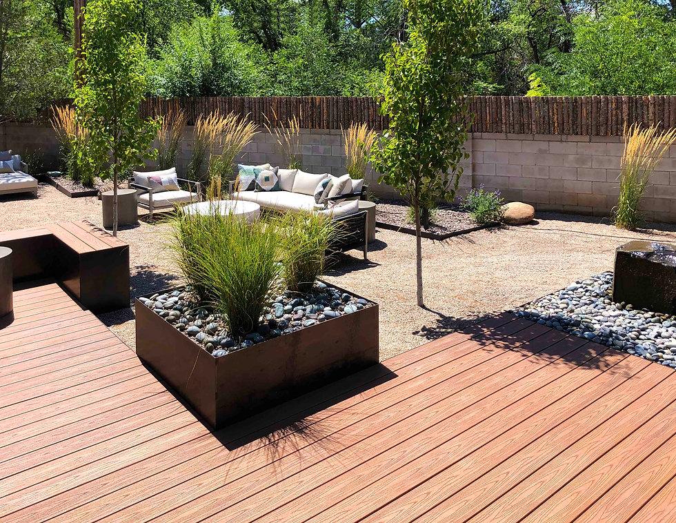 Reside Home Outdoor Living Deck Interior
