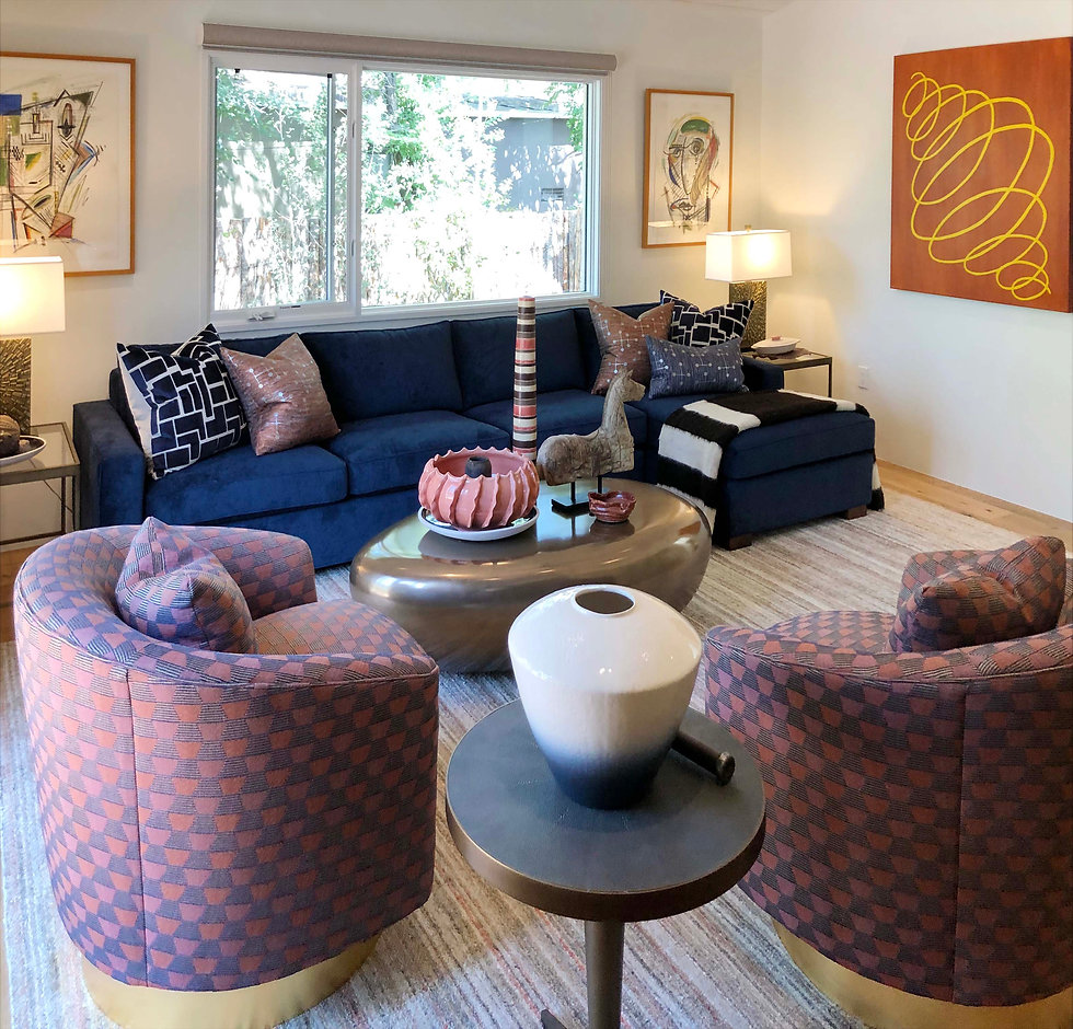 Reside Home Sitting Room Interior Design