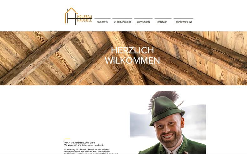 Holzbau Hausjell