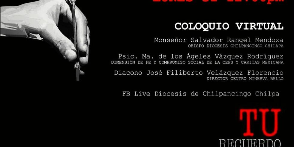 Coloquio Virtual día internacional del detenido desaparecido