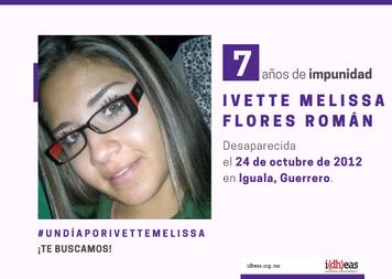 Ivette Melissa Flores Román 7 años de impunidad