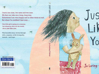 Just Like You Publishes Today with Otter-Barry Books!!