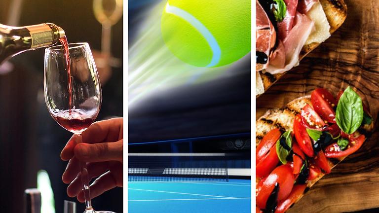 15-Love: A Grand Slam Wine Tasting - Ticket