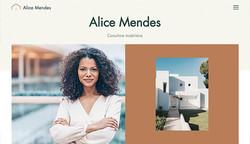 Site modelo: Consultora Imobiliária