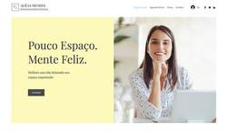 Site modelo: Profissional Organizer