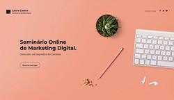 Site modelo: Eventos digitais & Lançamentos