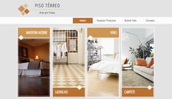 Site modelo: Pisos e Azulejos