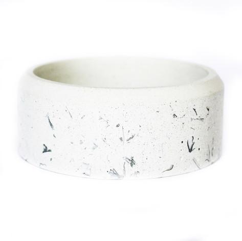 White & Silver Speckle
