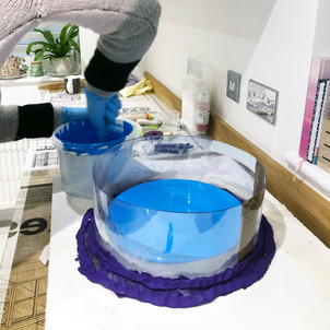 Silicone mould making