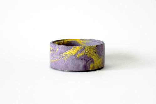 Purple & Yellow Marble