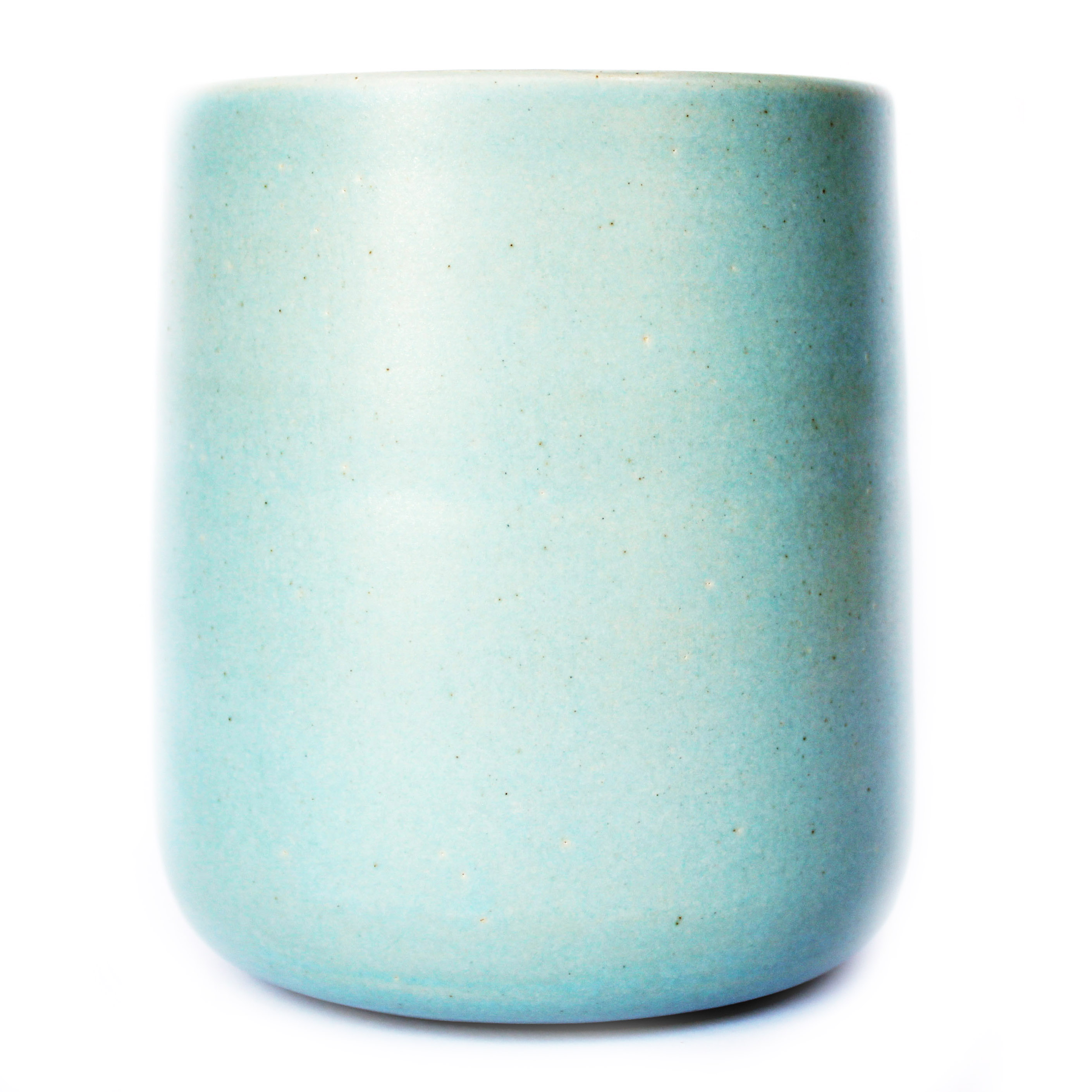 Matt Baby Blue Planter