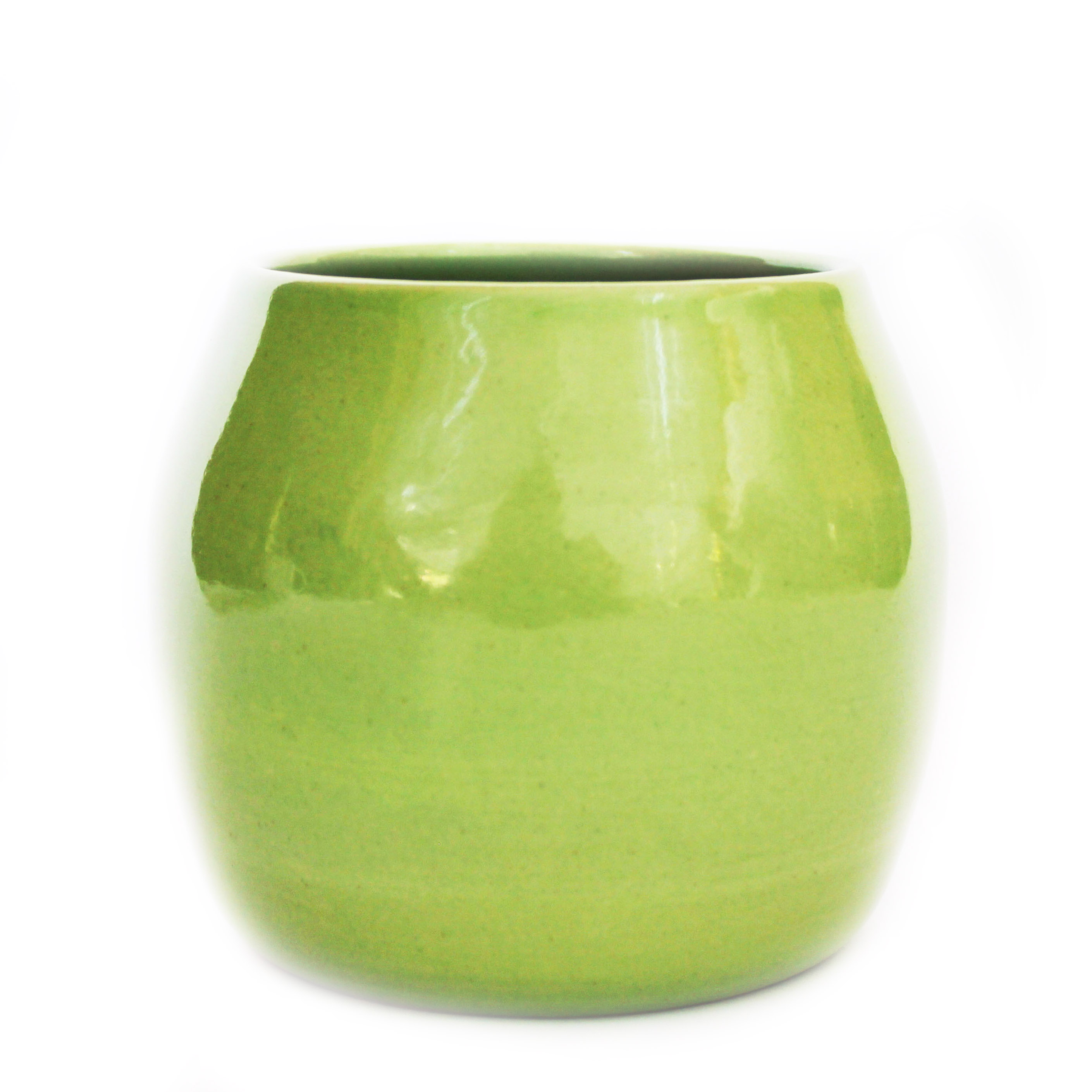 Gloss Lime Green Planter