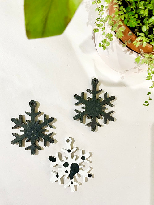 *Perfectly Imperfect* Set of 3 Christmas Decorations