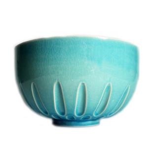 Sea Blue Pavilion Bowl