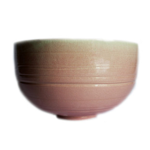 Pink Ombre Line Bowl