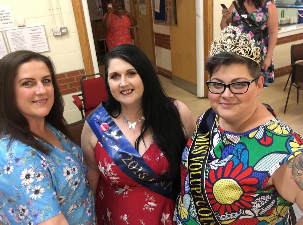 Rachel, Emma-Jayne and Tracie